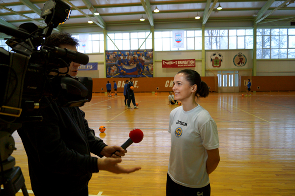 Беличанка, Юлия Титова, Алина Горобец, Пенза, Лагуна УОР, Национальная женская сборная Украин, FUTSAL AWARDS 2012